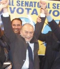 Rielezione del Senatore Antonio d'Alì